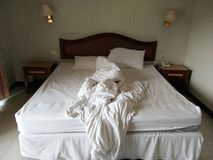 Säng Royaltyfri Bild