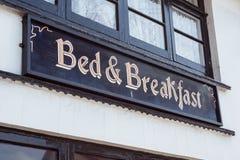 Säng & frukost Royaltyfri Foto