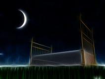 Säng under stjärnorna Arkivbilder