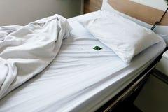 Sängar för patienter royaltyfri bild