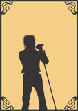Sänger Stockbilder