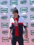 Sänger Austin Mahone nimmt an Arthur Ashe Kids Day 2013 bei Billie Jean King National Tennis Center teil Lizenzfreie Stockfotos