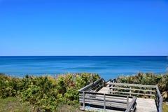 Sänger-Insel, Florida Stockbild
