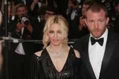 Sänger Madonna und Guy Ritchie stockfotografie