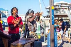 Sänger sind Victoria und Albert Waterfront lizenzfreie stockfotos