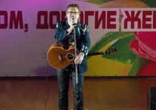 Sänger Vladimir Markin Lizenzfreie Stockbilder