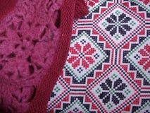 sängkläder jersey Royaltyfri Bild