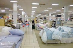 Sängkläderområde Arkivbild