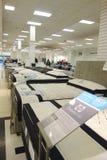 Sängkläderområde Fotografering för Bildbyråer
