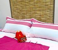 sängkläderremmar Fotografering för Bildbyråer