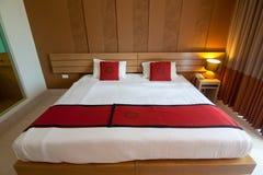 Sängrumdesign Fotografering för Bildbyråer