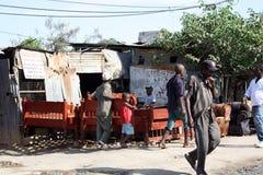 Sängtillverkare mombasa Royaltyfri Foto