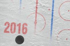 Säsong för hockey 2016 av året Royaltyfri Fotografi