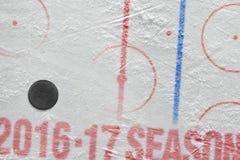 Säsong för hockey 2016-2017 av året Arkivfoto