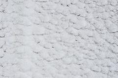 Säsonger övervintrar, lättnad från snöyttersidan Royaltyfri Fotografi