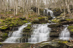 Säsongsbetonad Catskills vattenfall royaltyfria bilder