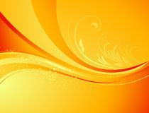 Säsongsbetonad naturabstrakt begreppbakgrund Eco vektor Royaltyfri Foto