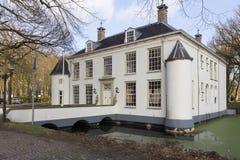 Säteri i ett ställe i Nederländerna royaltyfri bild