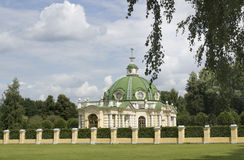 Säterit av Kuskovo moscow Royaltyfria Bilder