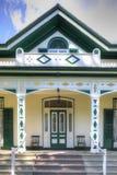 Sätta en klocka på hemman, hem av Alexander Graham Bell i Brantford, Cana royaltyfria bilder