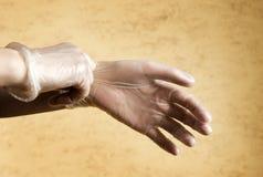 sätta för handskar arkivfoton