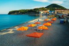 sätta på land Black Sea Royaltyfri Foto