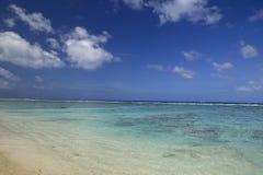 sätta på land det tropiska dröm- paradiset arkivfoto