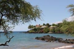 sätta på land hawaii Arkivfoto