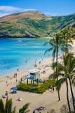 sätta på land hawaiibon Arkivbild