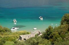 sätta på land lovrecinaen för den braccroatia ön Royaltyfri Bild