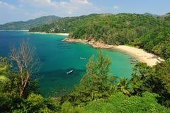 sätta på land phuket thailand Royaltyfri Bild