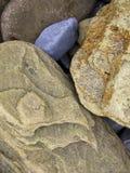 Sätta på land Rocks Arkivfoto