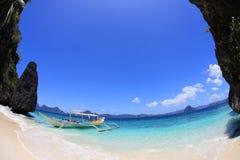 sätta på land semesterorten Royaltyfria Bilder