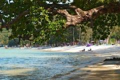sätta på land thailand Royaltyfri Fotografi