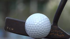 Sätta pro-golfare, sportar arkivfilmer