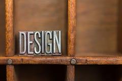Sättareenhet med slut för design för stavning för metallledningstyp upp Arkivbilder