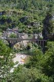 Sättigt DU Tarn, Frankreich Lizenzfreies Stockbild