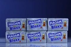 Sätze Maoam Bloxx, Koks-Kolabaumaromen stockbilder