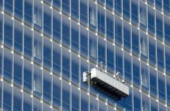 Säubern eines Gebäudes Lizenzfreie Stockbilder