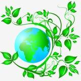 Säubern Sie Ökologieerde Lizenzfreie Stockfotos