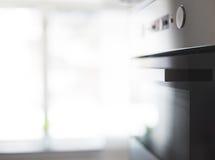 Säubern Sie Aluminiumofen Stockbild