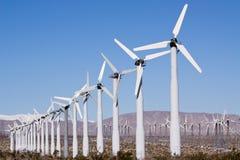Säubern Sie erneuerbare Energie Stockfoto