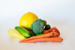 Säubern Sie Gemüseanordnung Lizenzfreies Stockbild