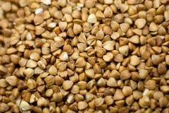 Säubern Sie Getreide - Buchweizen Stockbilder