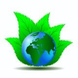 Säubern Sie grüne Welt Lizenzfreies Stockbild