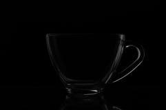 Säubern Sie Kaffeetasse Stockfotografie