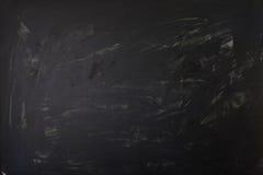 Säubern Sie Kreidebrettoberfläche - das whiped aus- Medium, das für die hellen oder dunklen Symbole und das Schreiben tont Stockbild