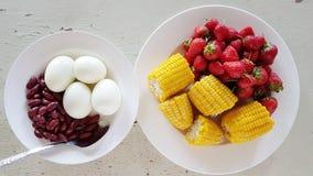 Säubern Sie Lebensmittel für gesundes Lizenzfreie Stockfotografie