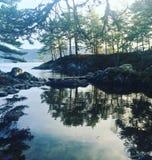 Säubern Sie Meer Norwegen Lizenzfreie Stockfotos