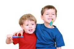 Säubern Sie Zähne Lizenzfreies Stockfoto